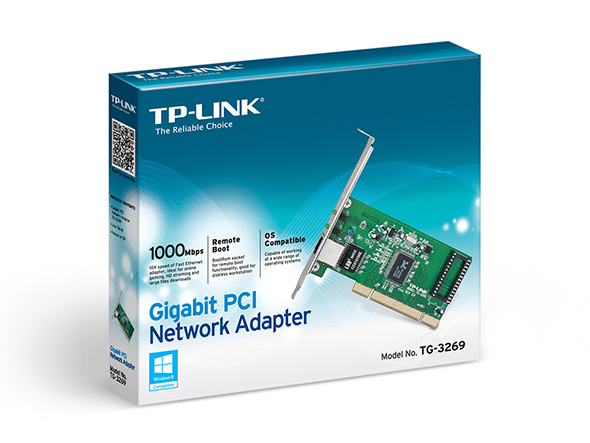 Povecaj sliku PCI TPLink TF3269 101001000Mbs Network Adapter